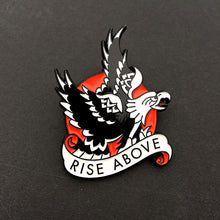 Load image into Gallery viewer, Tattoo Flash Pin | Rise Above - Jared Gaines Art