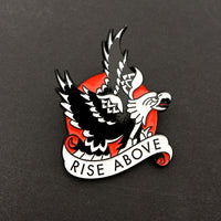 Tattoo Flash Pin | Rise Above - Jared Gaines Art