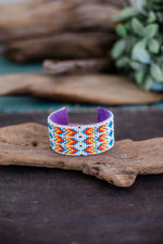 Beaded Cuff | Large | White