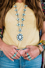 The Patricia | Dry Creek Turquoise Necklace & Earrings