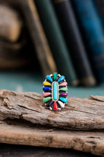 Small Ruby Zuni | Colorful