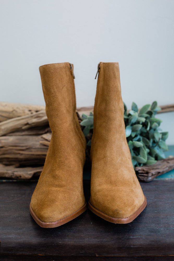 Caty Fawn Suede Boot