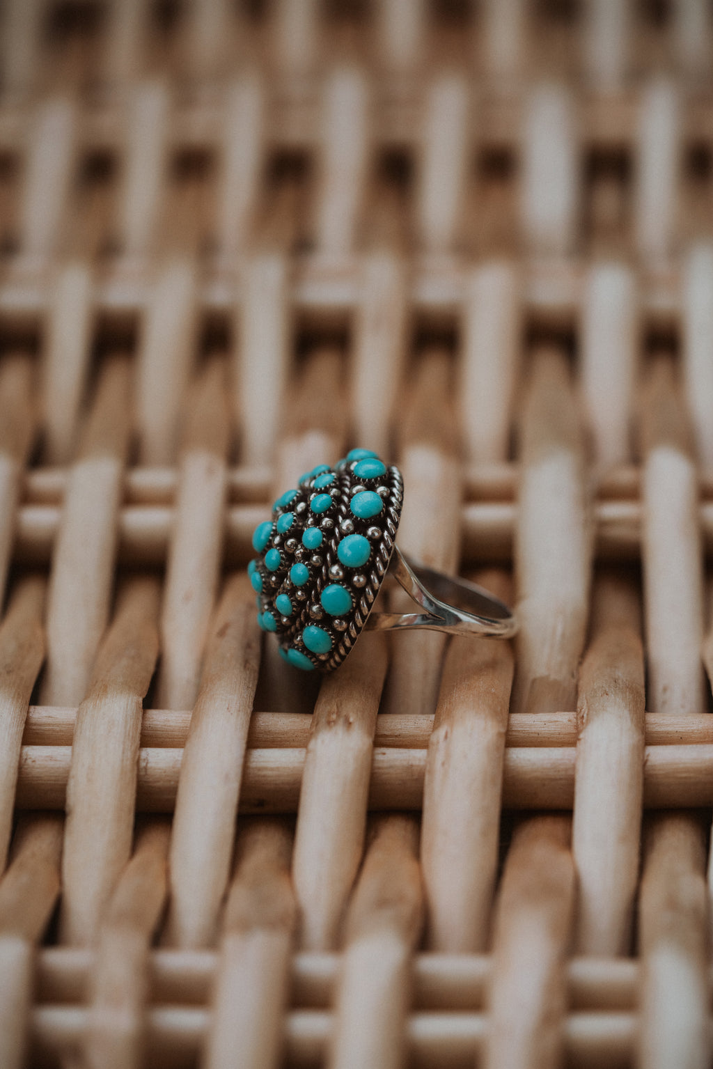 XL Paisley Ring | Turquoise