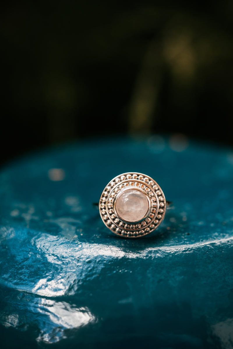 Shia Ring | Rose Quartz