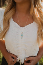 Vango Necklace | Double Larimar