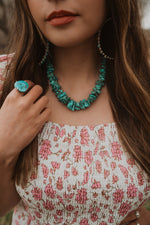The Leila | Kingman Turquoise Chippy