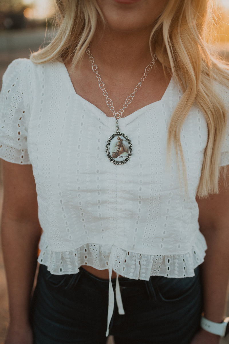 The Duchess Necklace | Silver
