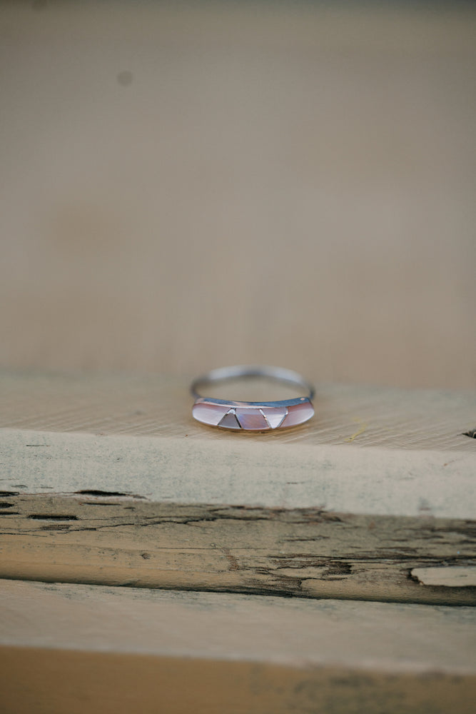 The Harlow | Diamond Opal Ring