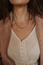 The Poncey Necklace | Yellow Chippy
