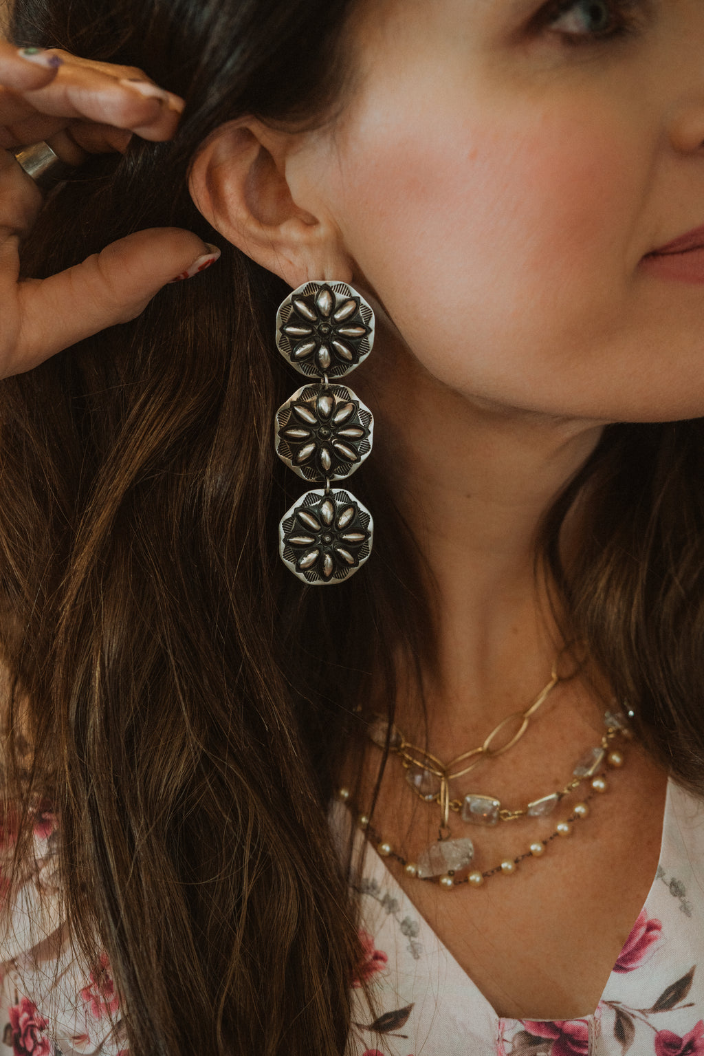 Concho Earrings #22