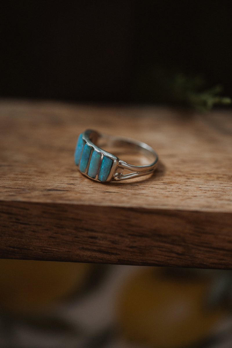 Cru Ring | Sky Blue