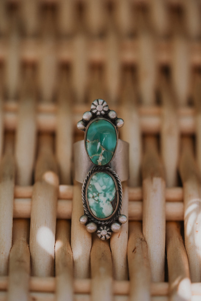 Dual Stone Ring | Size 6