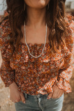 The Addie Necklace | Howlite