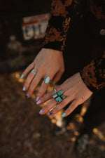 The Lora Ring | Larimar