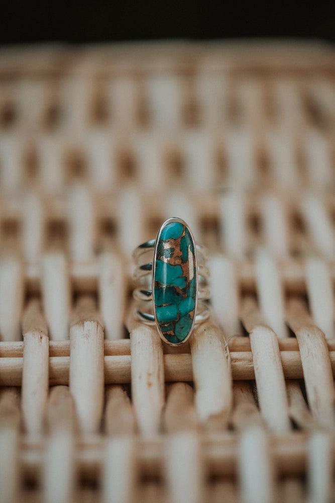The Cheyenne | Blue Copper Turquoise