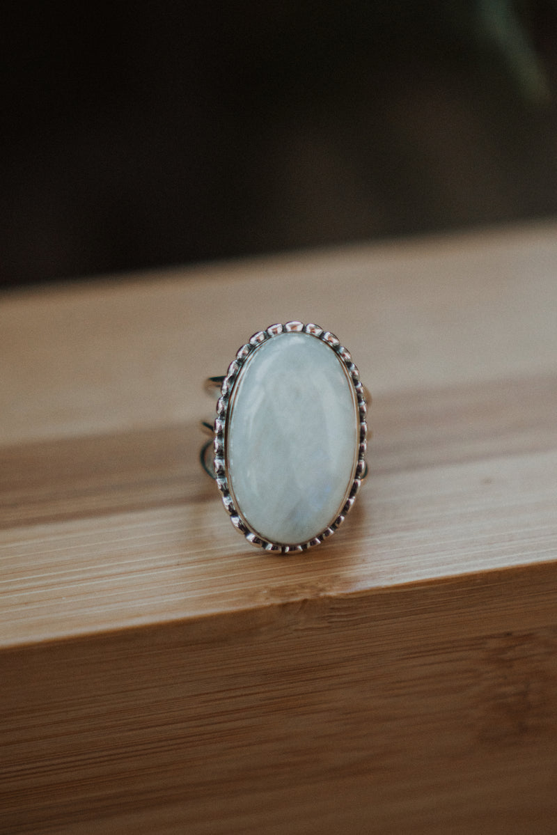 The Colette | Rainbow Moonstone