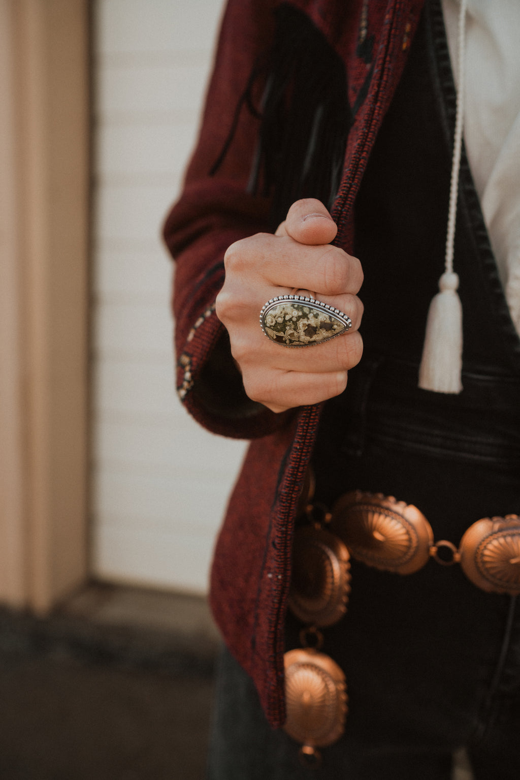 The JoJo Ring | Rainforest Jasper