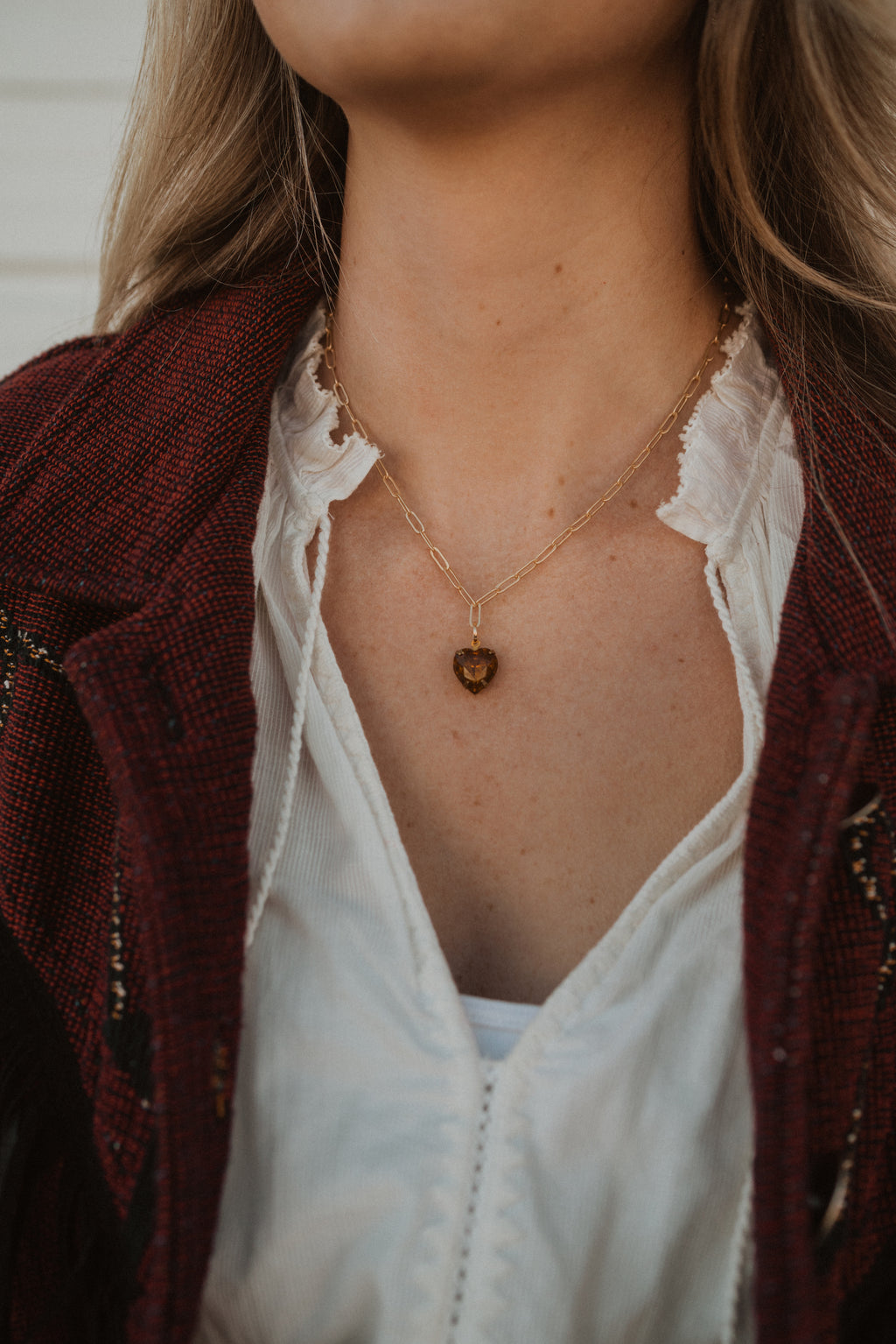 The Jewel Necklace | Heart