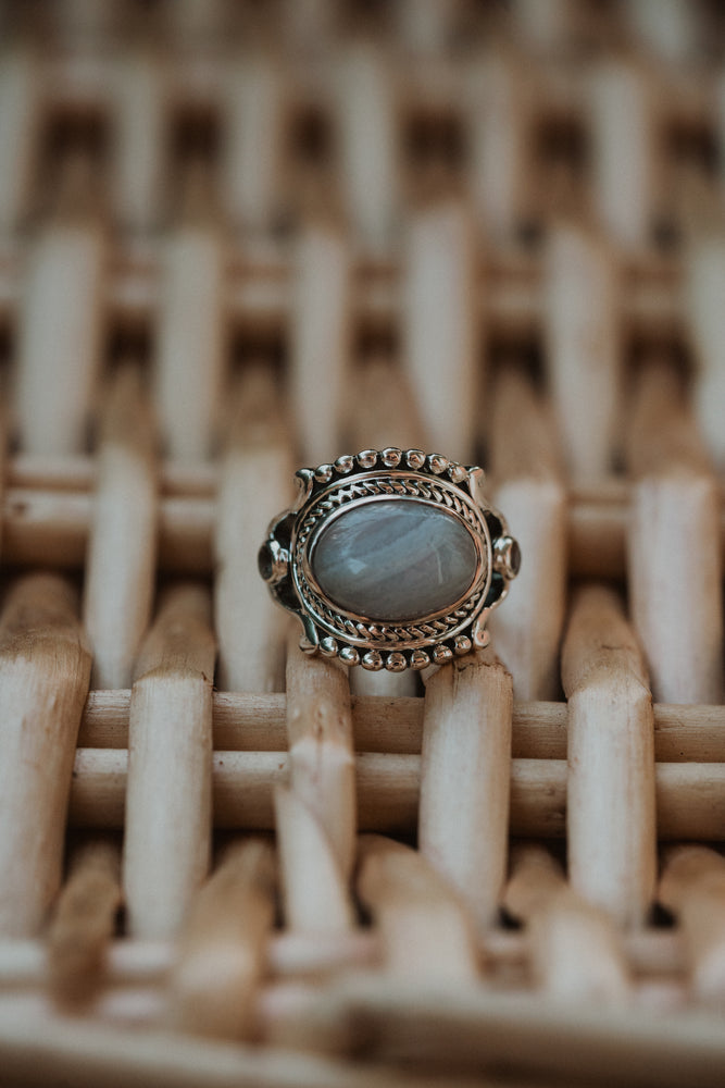 Eden Ring | Blue Lace Agate