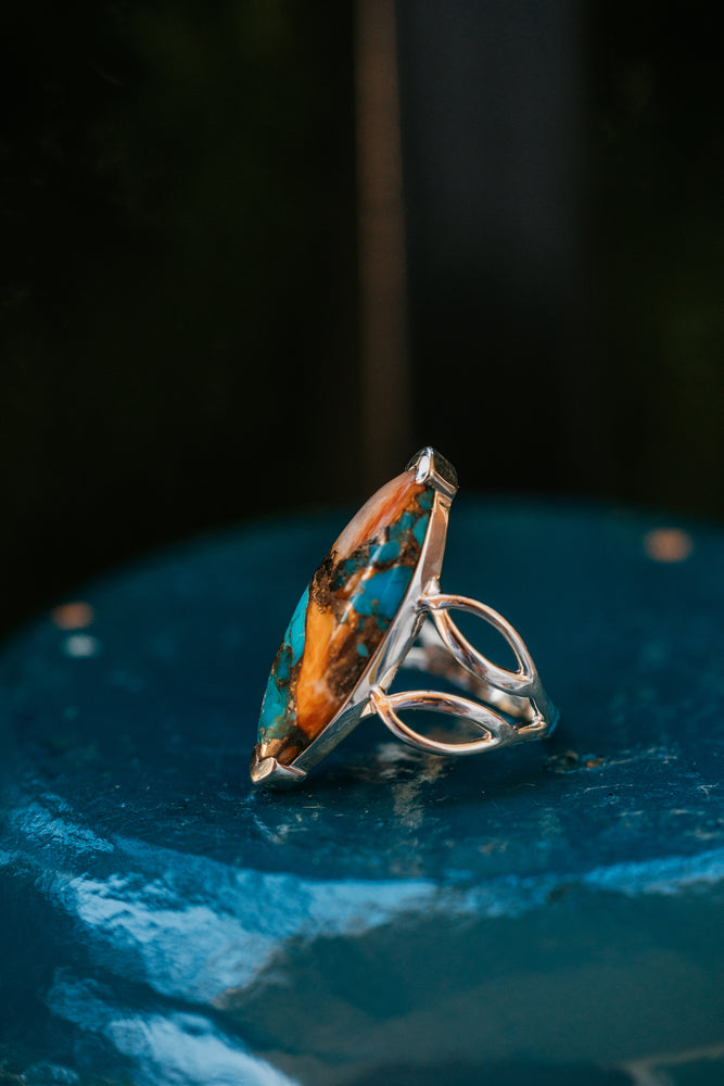 The Jess | Turquoise Ring