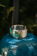 Dacky Ring | Turquoise and Silver
