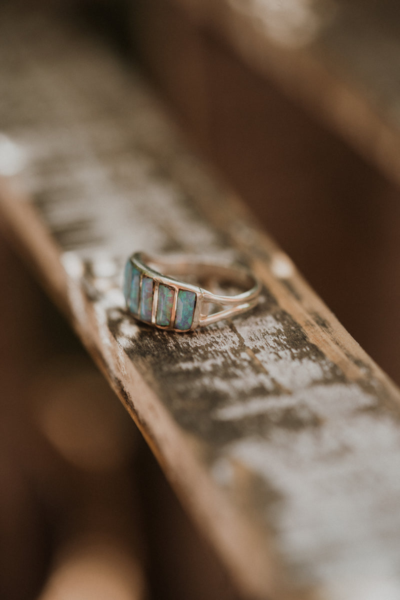 Cru Ring | Blue Opal