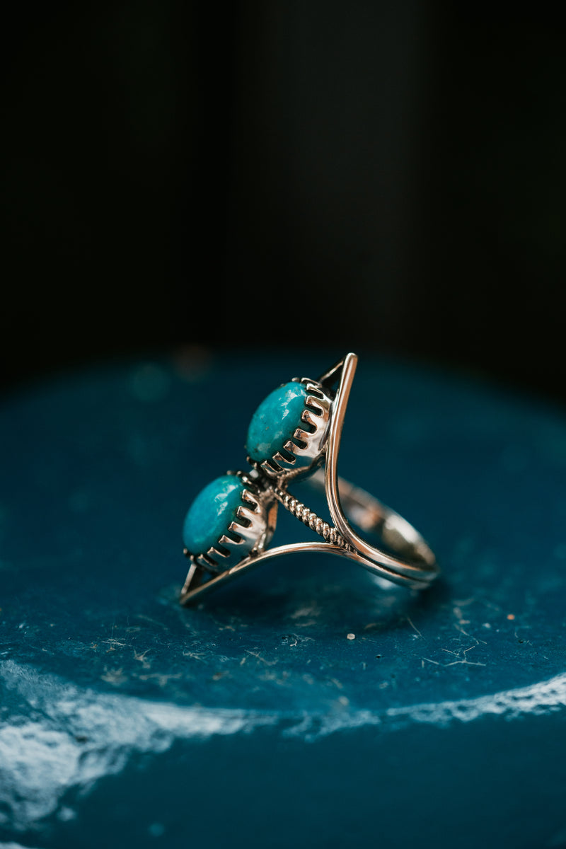 Zaria Ring | Mexican Turquoise
