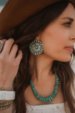 The Cass | Turquoise Zuni Earring