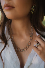 The Margot | Silver Circle Chain