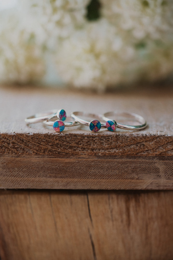 The Janey | Small Opal Ring