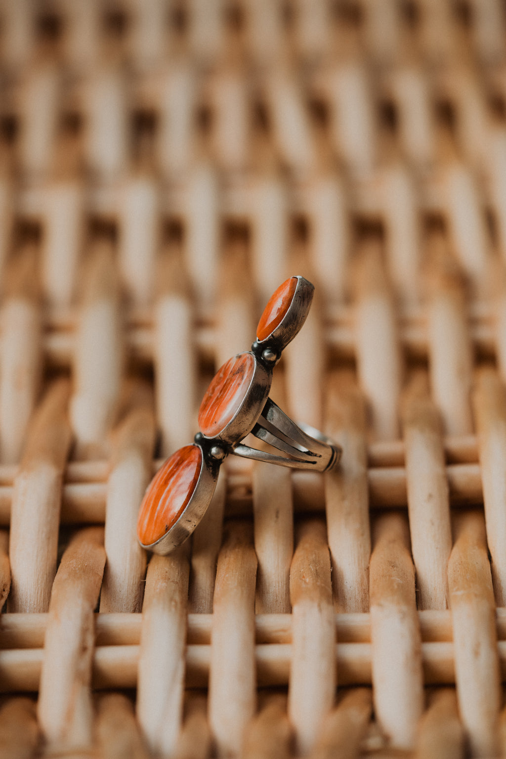 Mitchie Ring | Spiny Oyster Orange