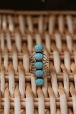 Stevie Ring | Turquoise Opal