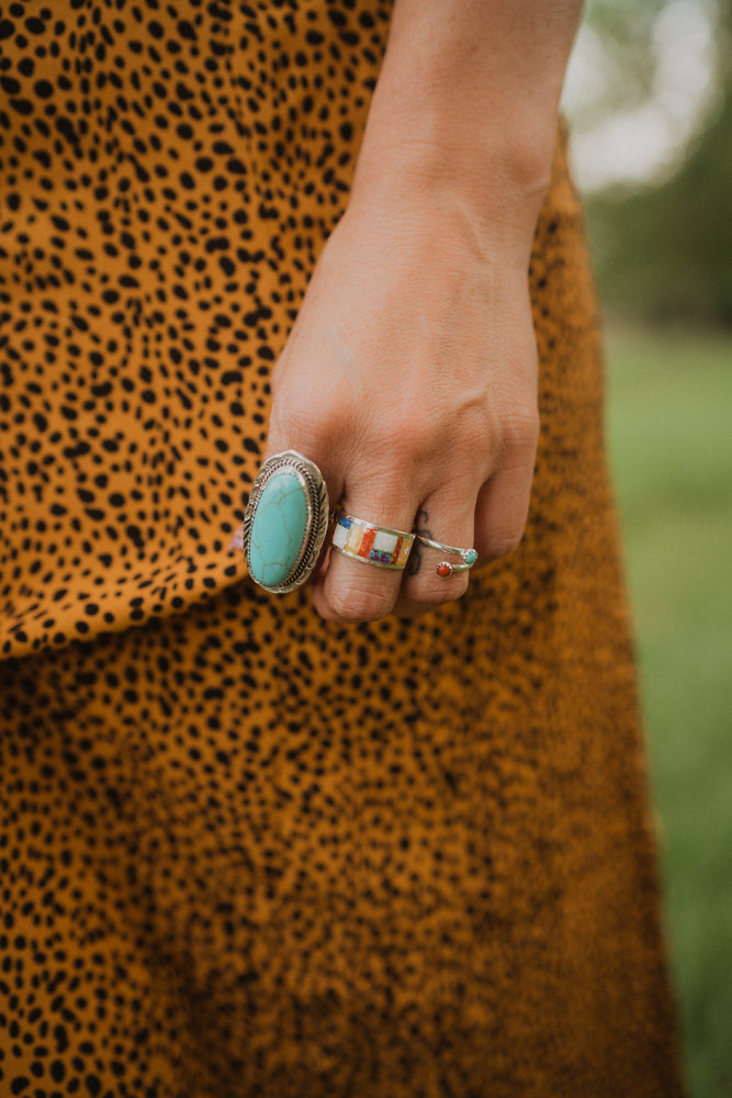 Sally Ring Turquoise | The Original