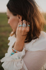 The Eden | Dendritic Opal Rope Ring