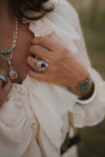 The Henley | Purple Amethyst Ring