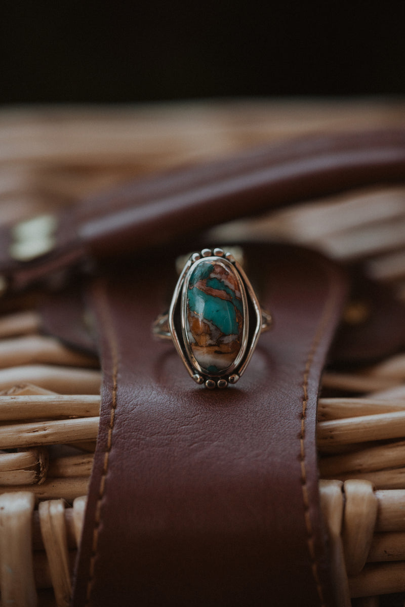 The Liza Ring | Spiny Turquoise