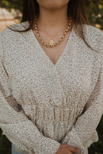 Golden Rose Necklace Set | #2