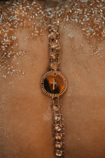 Gold Cross | Coin Necklace