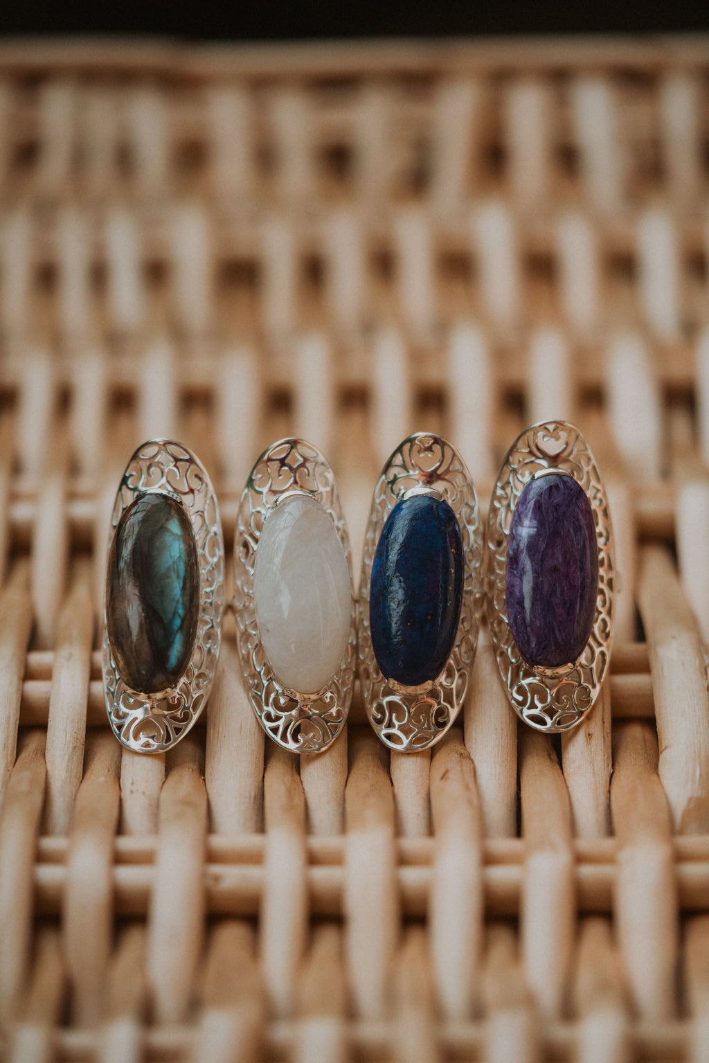 The Lana Ring | Moonstone