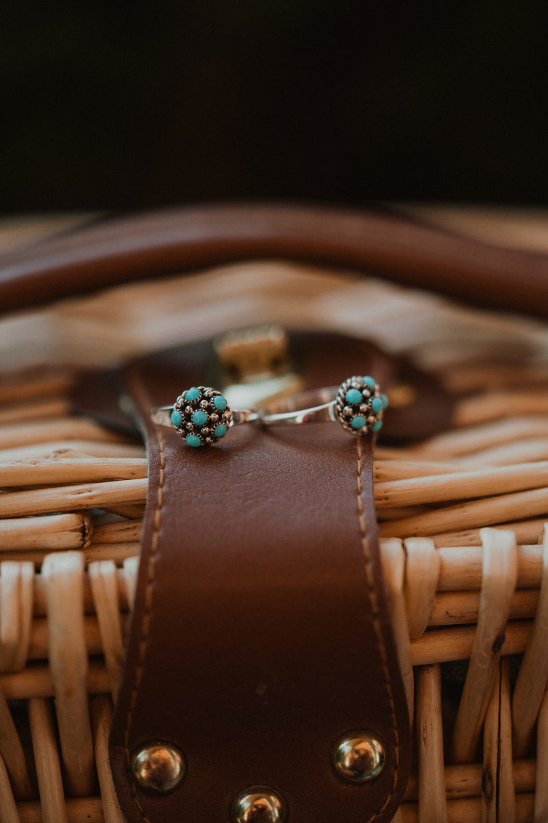 The Paisley | Turquoise Bubble Ring
