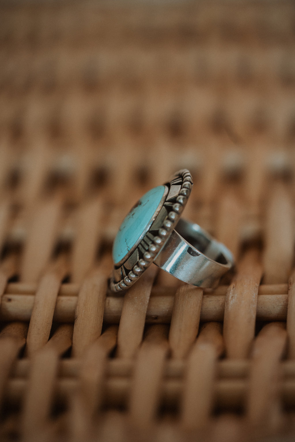 The Calico Ring | Golden Hill Turquoise