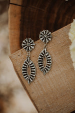 Cat Eye Zuni Earring | White Buffalo