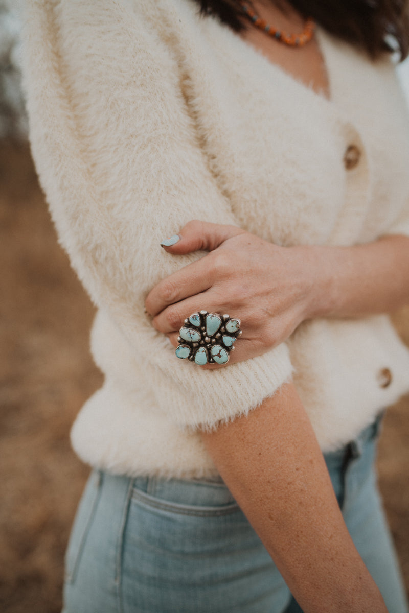 Bronx Modern Cluster Ring | Size 6.5