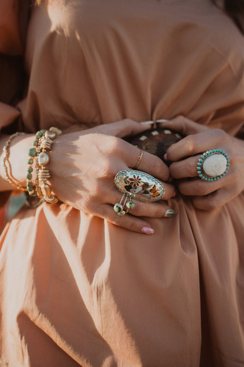 Lasso Ring | Gold Filled