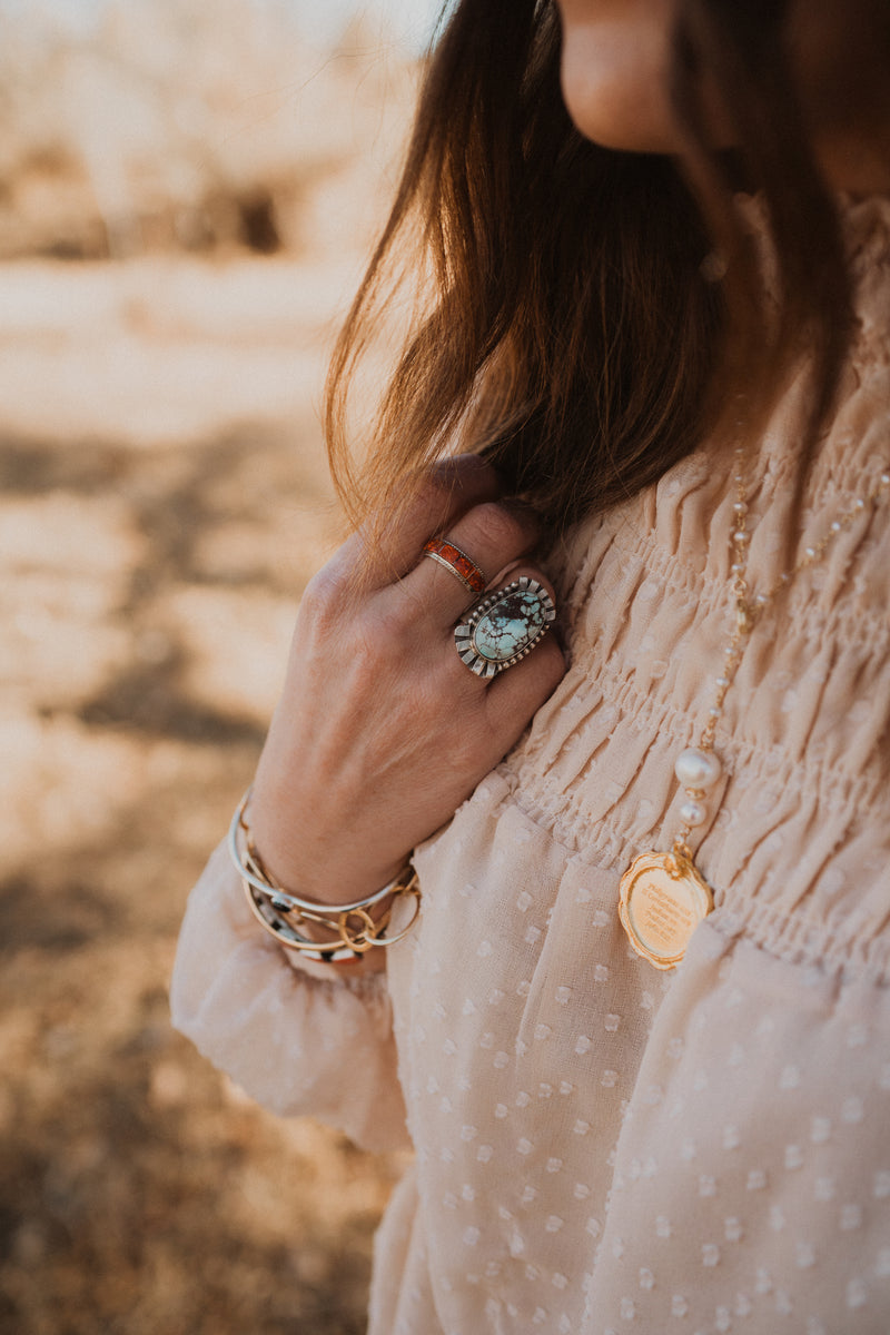 The Jean Ring | Golden Hill Turquoise