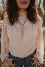 The Genevieve Necklace | Silver Cross