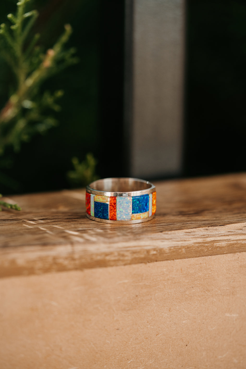 Cherie Baby Ring | Colorful Opal