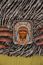 The Hux | Chief Vintage Dish Necklace