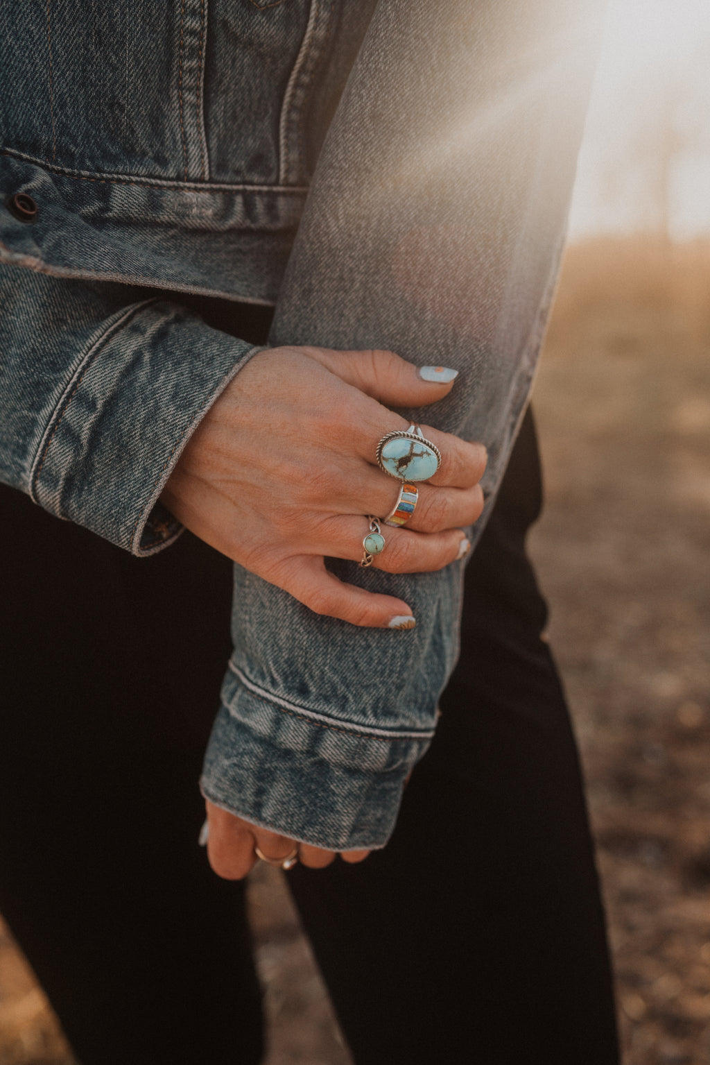 Cru Ring | Colorful Opal