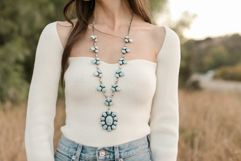 The Patricia | Dry Creek Turquoise Necklace